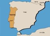 כאן ממוקמת פורטוגל על המפה