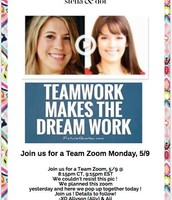 May KICK OFF Team Zoom