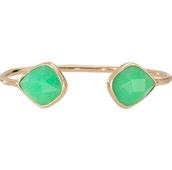 Serenity stone cuff green