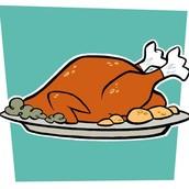 El comida de Día de Dar Gracias