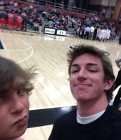 paul grammer and me at the bountiful game