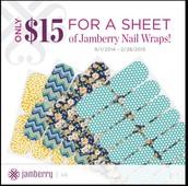 $15 per sheet