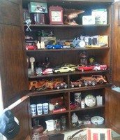 Wood and Metal Model Cars
