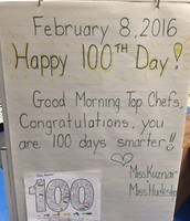 Morning Message For 100's Day.