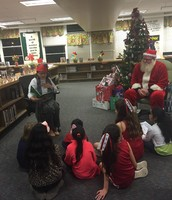 Hill - Holiday Story in the Library