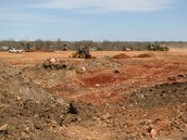 Excavation of the future DHE campus