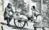 1830s- famine and rebellions in Japan.
