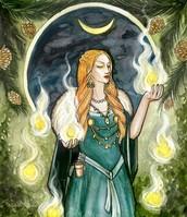 Loki's mother, Laufey