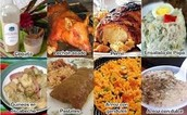 FOOD ON NAVIDAD