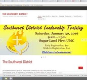 District Leadership Training is Saturday!