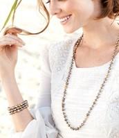 Milana Tassel Necklace *No TASSEL* - $20