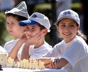 Armenian Children in A Chess Tournament