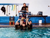 The ROV team