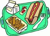 National School Lunch Week/ Semana nacional del amuerzo escolar