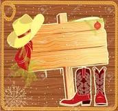 Mustang Western Wear Day!