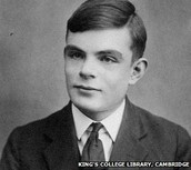 A picture of a young Alan Turing