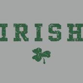 Irish white tee