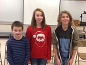 Geography Bee Champions