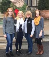 Hyams family trip to the Biltmore Estate