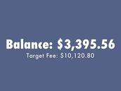 Target Fee Balance