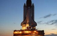 The space shuttle you'll be in