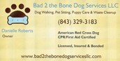 Fully Licensed, Insured and Bonded Pet Services
