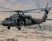 The blackhawk helicopter