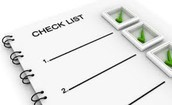 End of Year Checklists for All Staff