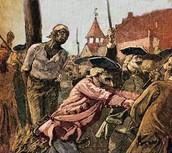 Slave accused of arson