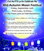 PTA Moon Festival Celebration