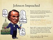 Why he was impeached