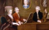 Mozarts family