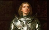 Joan of Arc at batlle