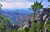 Picture of the black hills