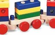 רכבת עץ מליסה ודאג