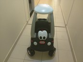 SOLD! -- LITTLE TIKES POLICE CAR