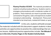 Fluency Practice VS Drill