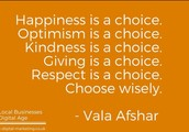 Let's choose happiness!