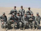 Poseing Soldiers