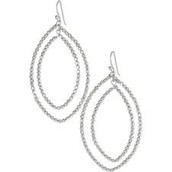 Bardot Earrings, silver