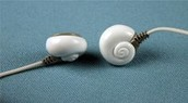 Seashell Earphones