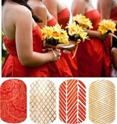 Yellow and Red color scheme