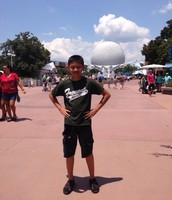 Noah at Epcot Center