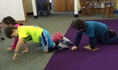 Kindergarten Sloth Crawling