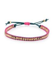 Wanderlust Single Wrap bracelet - Pink