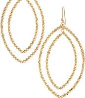 SOLD !!!!!!!!!!!!!!!!!!!!          Bardot Hoops - Gold
