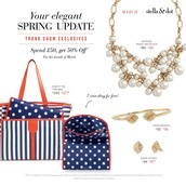 March Trunk Show Exclusive Offers