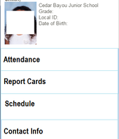 A student scheduled with teacher