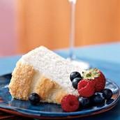 Vanilla Bean Angel Cake
