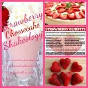 Strawberry Cheesecake Shakeology!